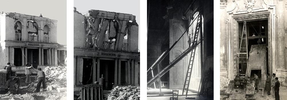 Derribos y reconstrucción