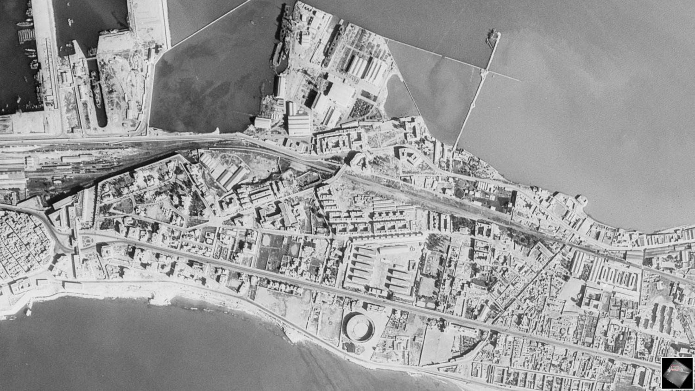 Vuelo norteamericano sobre Cádiz en 1956