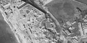 Vuelo norteamericano sobre Cádiz en 1946